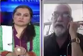 Nasim Zehra @ 8:00 (Hussain Nawaz Bhi Jali Accounts Chalate Thay) – 18th June 2017