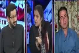 Nasim Zehra @ 8:00 (Nawaz Sharif Ki Achanak Wapsi) – 24th September 2017