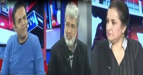 Nasim Zehra @ 8:00 (Panama Case & Role of Media) – 7th January 2017