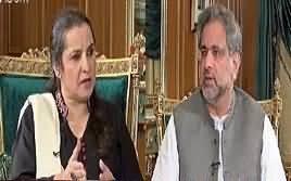 Nasim Zehra @ 8:00 (PM Shahid Khaqan Abbasi Interview) – 28th October 2017
