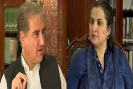Nasim Zehra @ 8:00 (Shah Mehmood Qureshi Exclusive Interveiw) – 27th July 2019