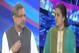 Nasim Zehra @ 8:00 (Shahid Khaqan Abbasi Exclusive) – 27th April 2019
