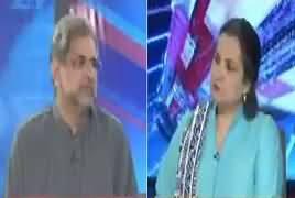 Nasim Zehra @ 8:00 (Shahid Khaqan Abbasi Exclusive) – 31st March 2019