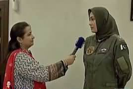 Nasim Zehra @ 8:00 (Special Show At PAF Museum) – 7th September 2018