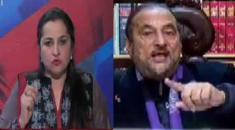 Nasim Zehra @ 8:00 (Special Talk With Babar Awan on Panama & Other Issues) – 15th January 2017