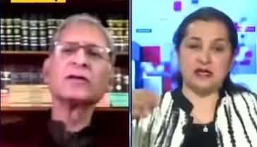 Nasim Zehra @ 8 (Aitzaz Ahsan Exclusive Interview) - 8th February 2021
