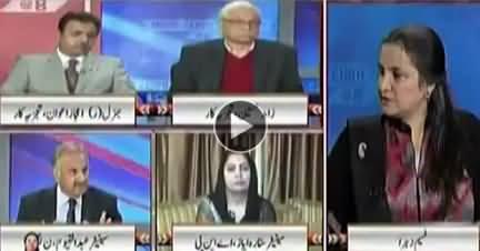 Nasim Zehra @ 8 (America Ki Pakistan Ko Dhamkian) - 24th December 2017