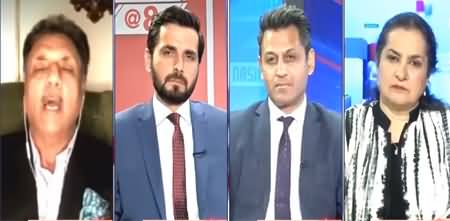 Nasim Zehra @ 8 (Can Pakistan's Media Actually 'Make & Sell' Pakistan's Narrative) - 10th August 2021