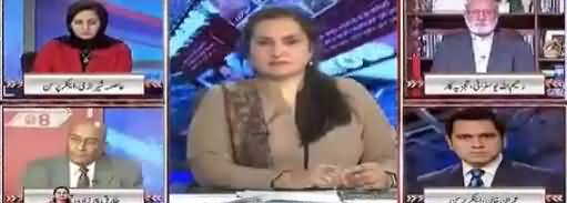 Nasim Zehra @ 8 (Chaudhry Nisar Vs Maryam Nawaz) - 10th February 2018