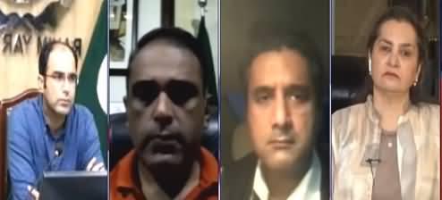 Nasim Zehra @ 8 (Complete Lockdown To Control Corona In Punjab?) - 12th April 2021