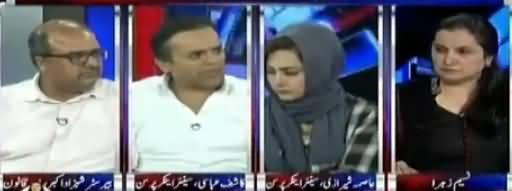 Nasim Zehra @ 8 (FIR Against Arshad Sharif) - 7th October 2017