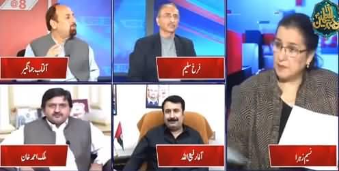 Nasim Zehra @ 8 (How Will Govt Control Inflation?) - 18th October 2021