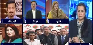 Nasim Zehra @ 8 (Inside Story Of PMLN And MQM Meeting) - 5th March 2020