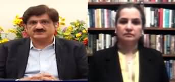 Nasim Zehra @ 8 (Murad Ali Shah Exclusive Interview) - 9 April 2020