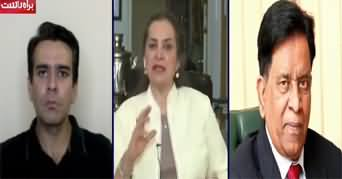 Nasim Zehra @ 8 (Murad Saeed And Bilawal Bhutto Verbal Spat) - 13th July 2020