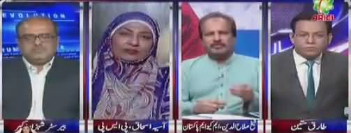 Nasim Zehra @ 8 (Mustafa Kamal Vs Farooq Sattar) - 11th November 2017