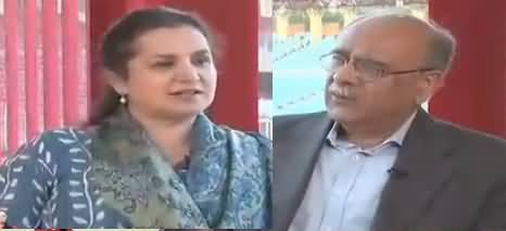 Nasim Zehra @ 8 (Najam Sethi Exclusive Interview) – 31st March 2018