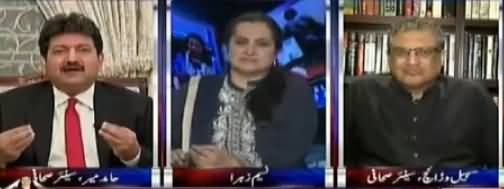 Nasim Zehra @ 8 (Nawaz Sharif Dobara Party Sadar) - 22nd September 2017