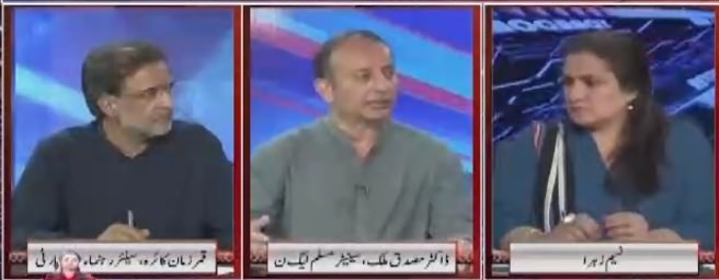 Nasim Zehra @ 8 (Opposition Ka Gath Joor) - 11th August 2018