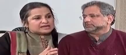 Nasim Zehra @ 8 (PM Shahid Khaqan Abbasi Interview) - 20th January 2018