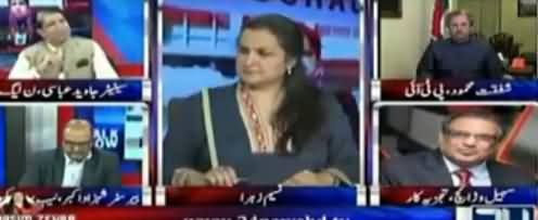 Nasim Zehra @ 8 (PMLN Mein Qayadat Ka Sawal) - 20th October 2017