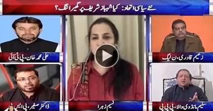 Nasim Zehra @ 8 (Shahbaz Sharif Ke Gird Ghaira Tang) - 9th December 2017