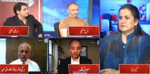 Nasim Zehra @ 8 (The Appointment of DG ISI) - 12th October 2021