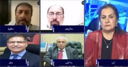 Nasim Zehra @ 8 (Treason Case Against Nawaz Sharif) - 6th October 2020