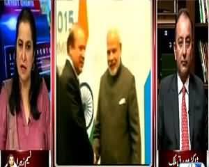 Nasim Zehra @ 9:30 (Nawaz Sharif & Narendra Modi Meeting) – 11th July 2015