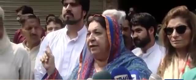 Nation will grip collars of Sharif brothers Dr- Yasmin Rashid