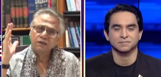 National Debate (Hassan Nisar Exclusive Interview) - 18th July 2021