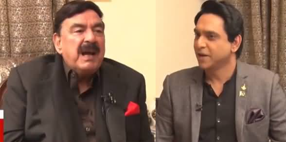 National Debate (Sheikh Rasheed Exclusive Interview) - 16th January 2021
