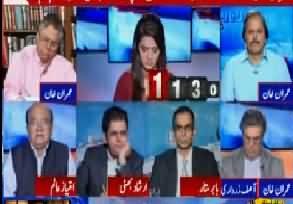 Nawaz Sharif aur Asif Zardari dono loot mar ki dour main haar chuke hai, inke leye apni izzat bachana mushkil ho gai hai - Hassan Nisar