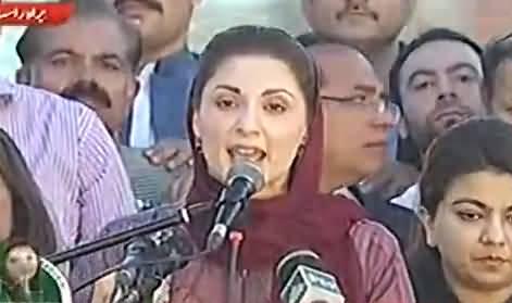 Nawaz Sharif aur Maryam Ko Hathkariya Lagay Chahe Jail Jana Paray Abb Parwa Nahi - Maryam Nawaz Praises Nawaz Sharif Strategy