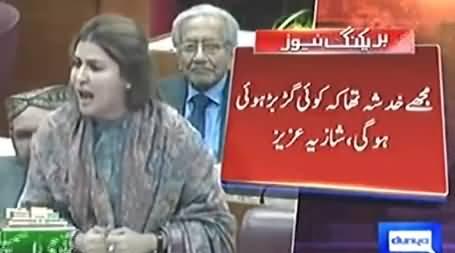 Nawaz Sharif Has Insulted This Parliament - Shazia Marri Bashing Nawaz Sharif