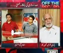 Nawaz Sharif Has Prematurely Got the Resignation of Mamnoon Hussain in His Pocket - Haroon Rasheed