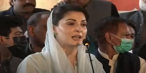 Nawaz Sharif Is A Trendsetter - Maryam Nawaz's Aggressive Speech Today