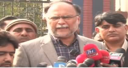 Nawaz Sharif Is Being Politically Victimized - Ahsan Iqbal Media Talk