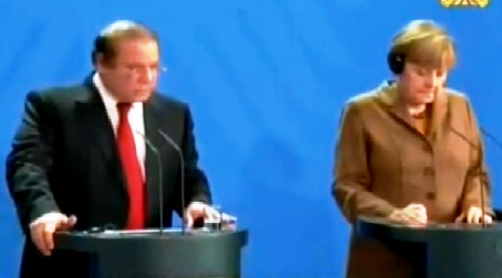 Nawaz Sharif Joint Press Conference With German Chancellor Angela Merkel - 11th November 2014