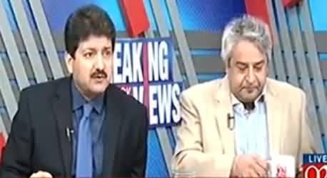 Nawaz Sharif Ko Un Ke Media Ke Doston Ne Marwaya - Hamid Mir Analysis
