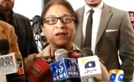 Nawaz Sharif Learned A Lot From Past, Imran Khan Should Let This Country Run - Asma Jahangir
