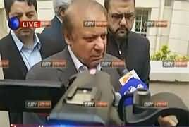 Nawaz Sharif Media Talk in London – 23rd September 2017