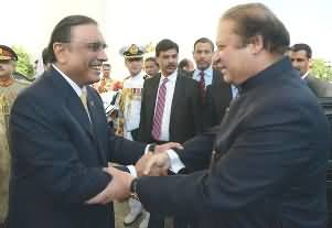 Nawaz Sharif Planned Special Ceremony and Guard of Honour For President Asif Zardari