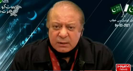 Nawaz Sharif's Address in PMLN's General Council Meeting - 4th March 2021