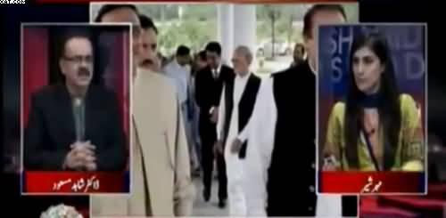 Nawaz Sharif tried to show that still i'm in control- Dr Shahid Masood's comments on Nawaz Sharif's body language