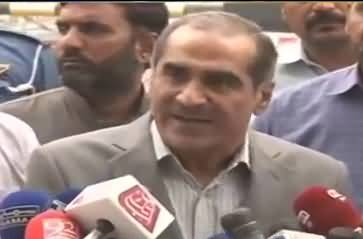 Nawaz Sharif was wrong when he refused to meet Asif Zaradari- Saad Rafique media talk