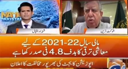 Naya Pakistan (Guests: Shaukat Tarin & Muhammad Zubair) - 11th June 2021