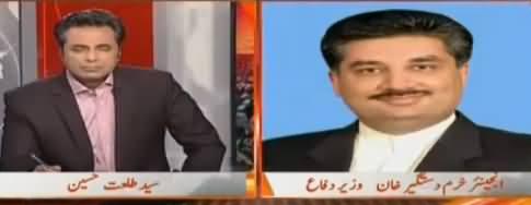 Naya Pakistan with Talat Hussain (Americi Dhamkiyan Aur Ilzamat) – 6th October 2017