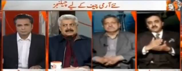 Naya Pakistan with Talat Hussain (Challenges For New Army Chief) - 26th November 2016