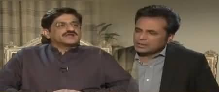 Naya Pakistan with Talat Hussain (CM Sindh Murad Ali Shah) – 24th November 2017